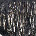 naturale / lurex nero